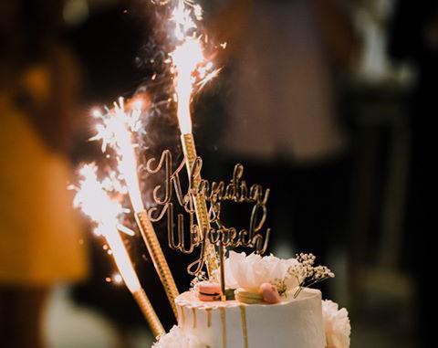 imienny topper weselny, imienny topper , dodatki na wesele , dekoracje tortu