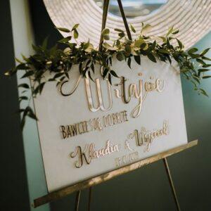 tablica powitalna , tablica powitalna gości, tablica powitalna wesele, tablica witajaca gości, personalizowana tablica na wesele