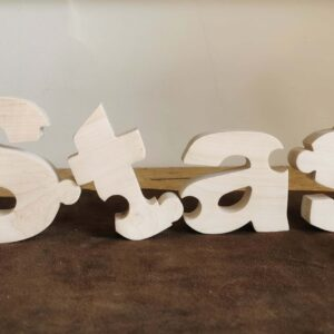 imienne puzzle drewniane dekoracja