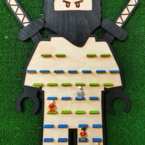 makaku półka na ludziki lego, połka na figurki lego