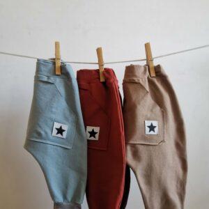 spodnie dresowe dziecięce, spodnie buggy, spodnie Little Star