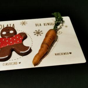 talerzyk dla świętego Mikołaja