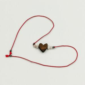 bransoletka z sercem, bransoletka dla niej, prezent dla niej